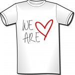 tshirt we are love